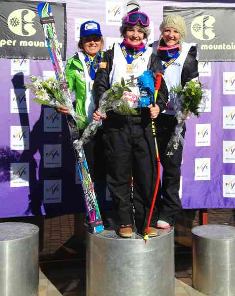 Winning always feels good and was a needed boost! -Super g, Copper Mountain Noram (Check out Katie Hartman in 3rd, Go ISR)