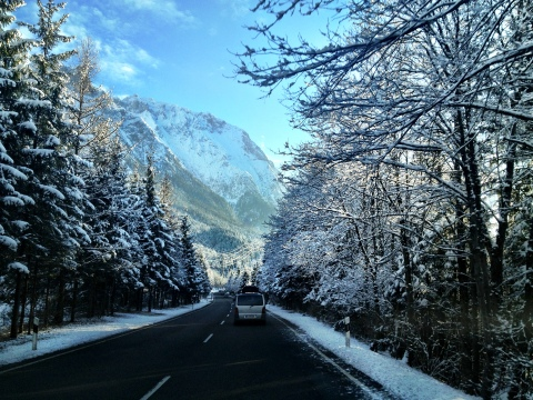On the road again.....somewhere in Sudtirol.