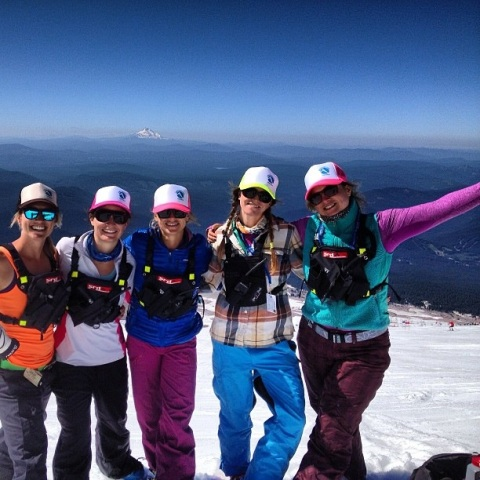 Greatest group of coaches, skiers and friends!