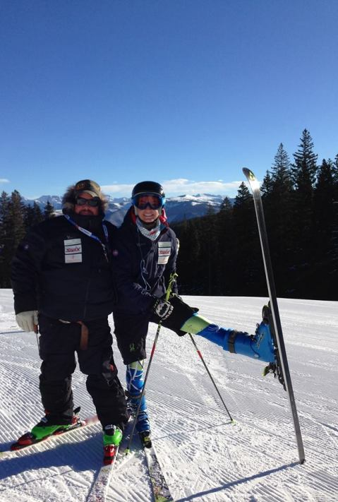 Thank you to #yettiapparel, #fischersportsalpineski, #POC, #leki and #Lange for making us look sharp in our outfits!