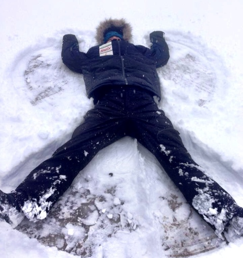Snow Angels….