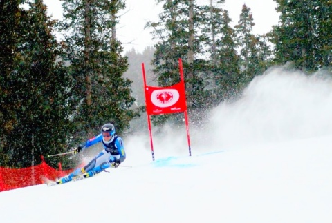 Noram Giant Slalom  Photo Credit Troy Watts