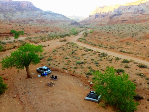 Camping near Goblin Valley State Park!