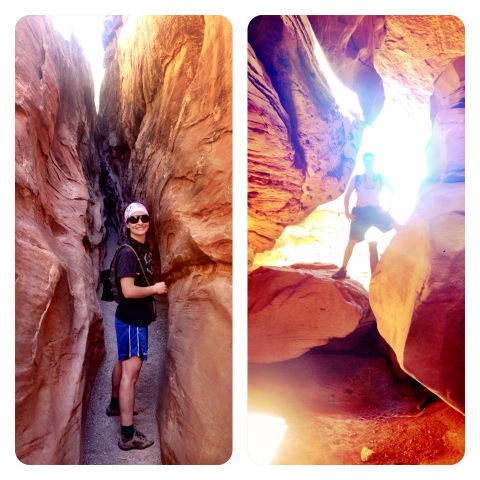Slot canyon hiking!