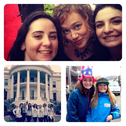 Post Season Olympic Celebrations: a trip to the White House and Park City's own parade of Olympians!