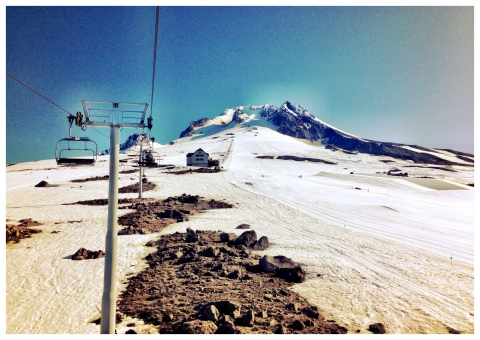 The first of three ski camps this summer in Mount Hood was a success!