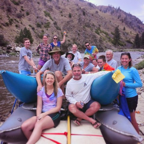 Salmon River Raft Trip  with life long friends!