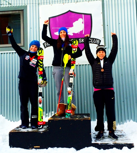 First Podium of the Season...in Slalom!!
