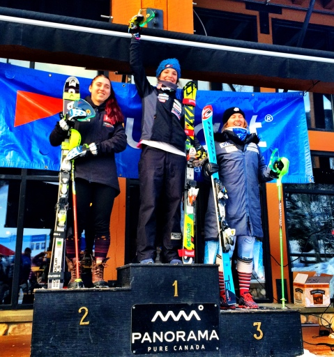 It is always nice to stand on the top of a podium!