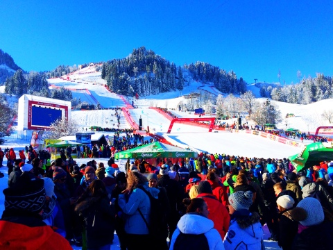 The Infamous Kitzbuhl Downhill