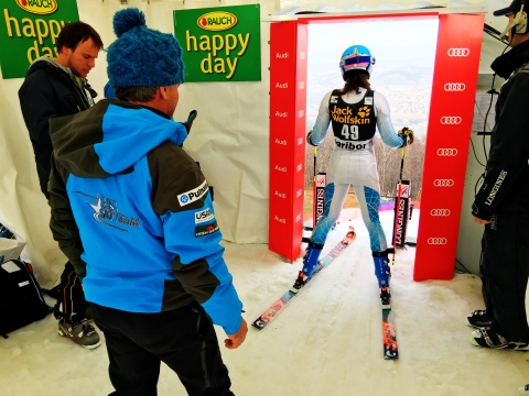 World Cup GS in Maribor, Slovenia!